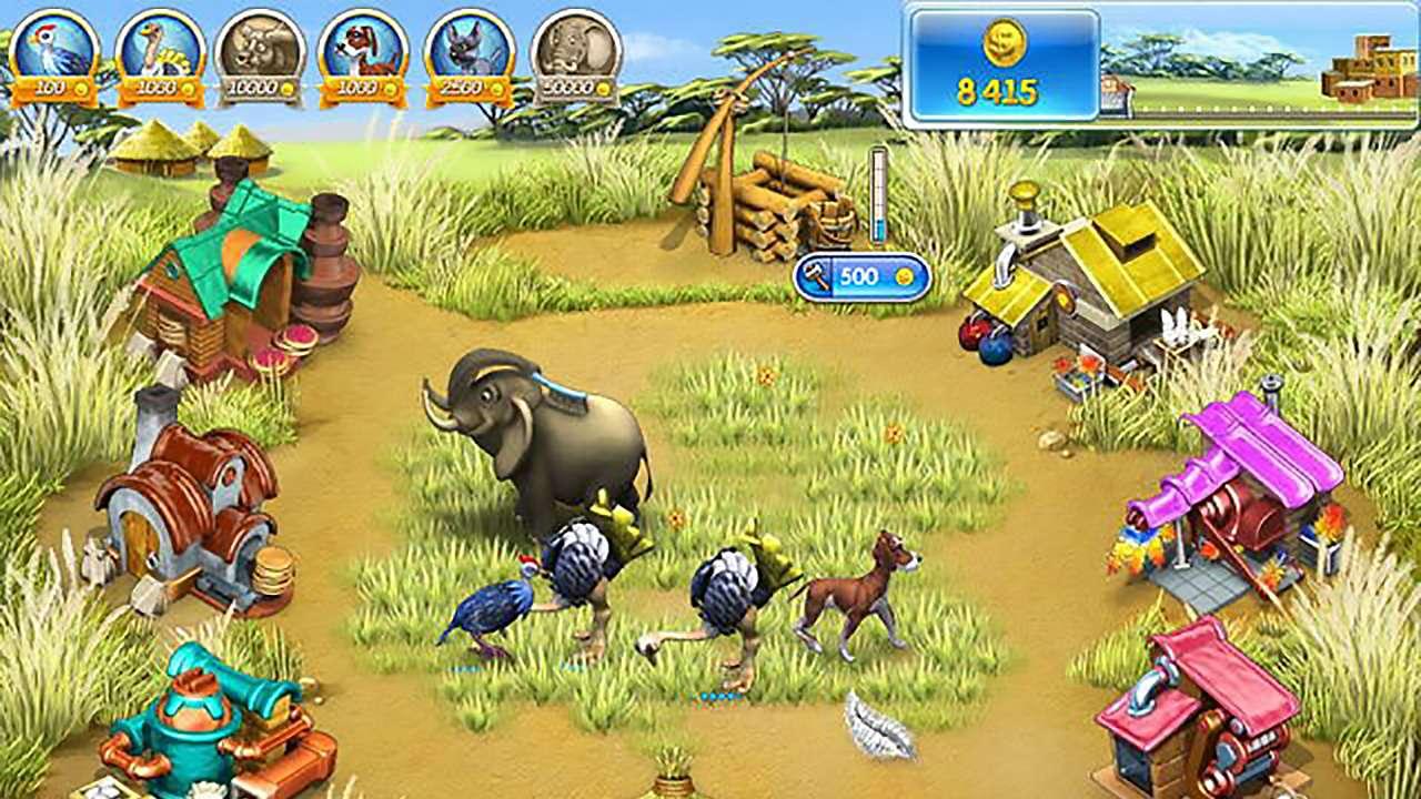 Screenshot from Farm Frenzy 3: Madagascar (1/6)