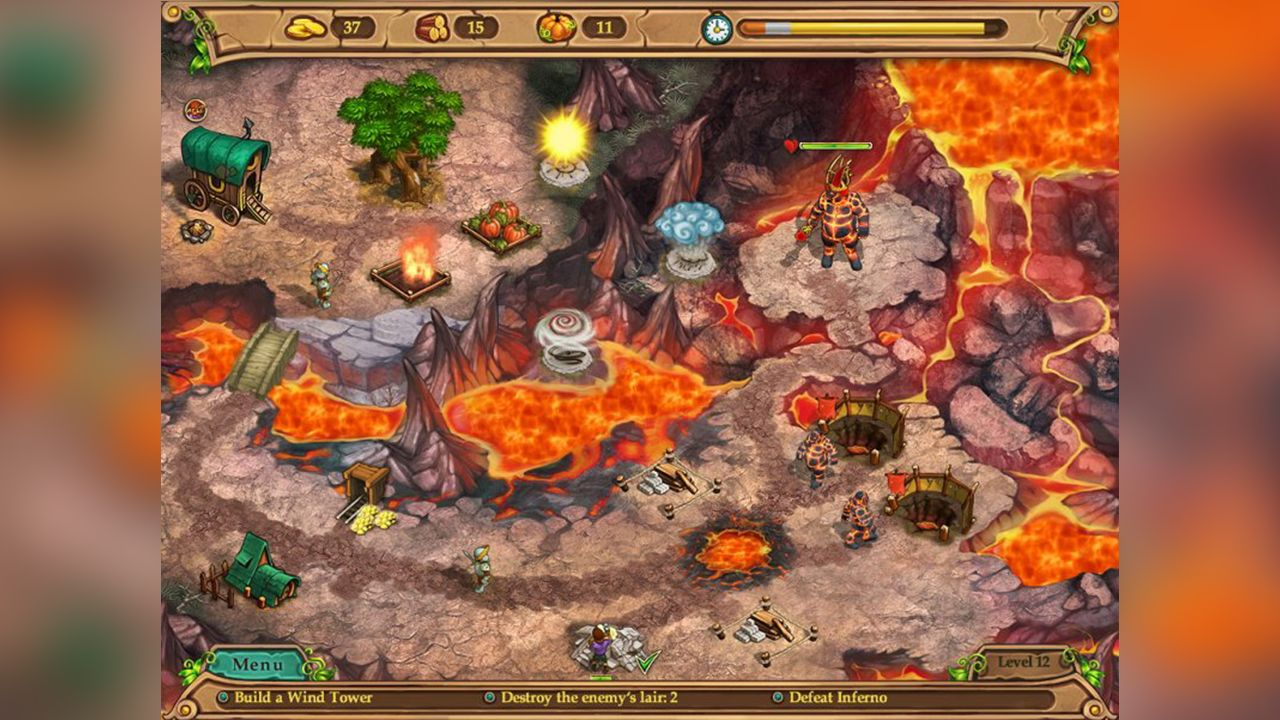 Screenshot from Weather Lord: In Pursuit of the Shaman (3/8)