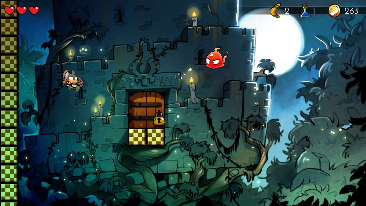Screenshot from Wonder Boy: The Dragon's Trap (8/10)