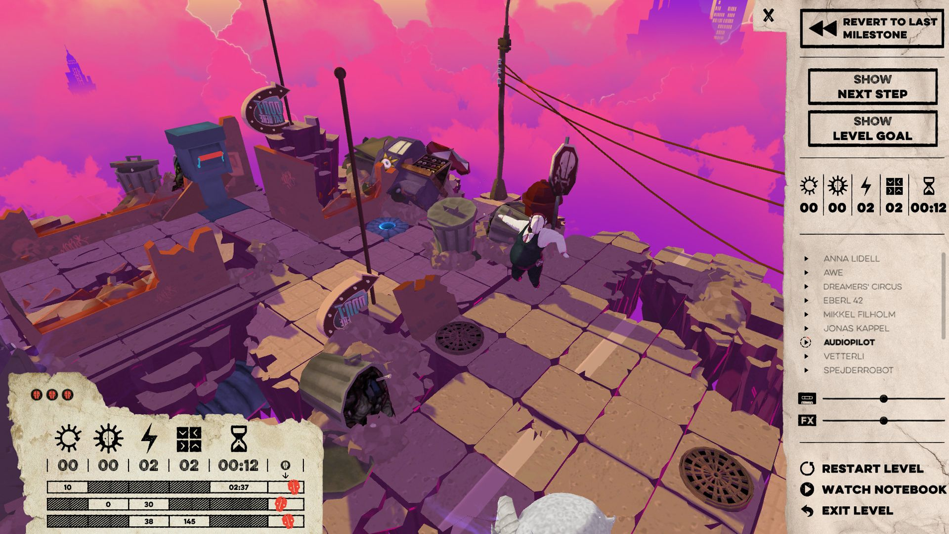 Screenshot from Felix the Reaper (2/10)