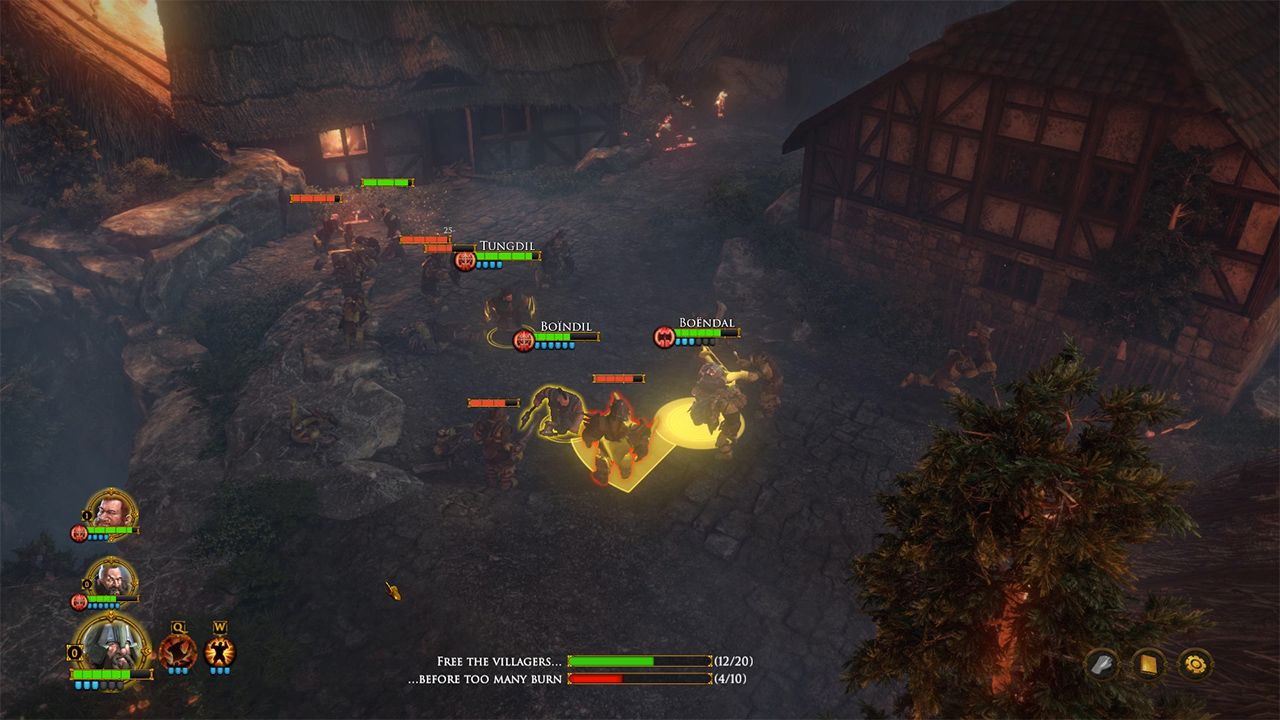 Screenshot from The Dwarves (1/5)