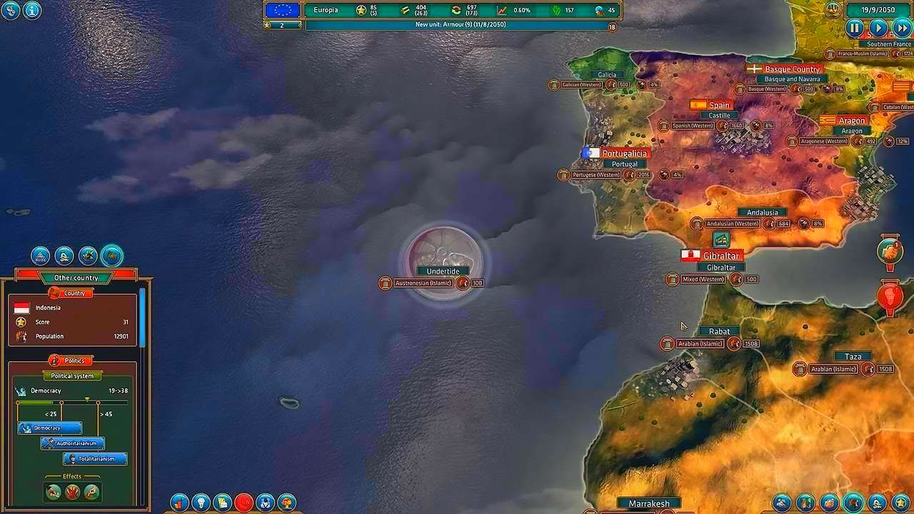 Screenshot from Realpolitiks (1/8)