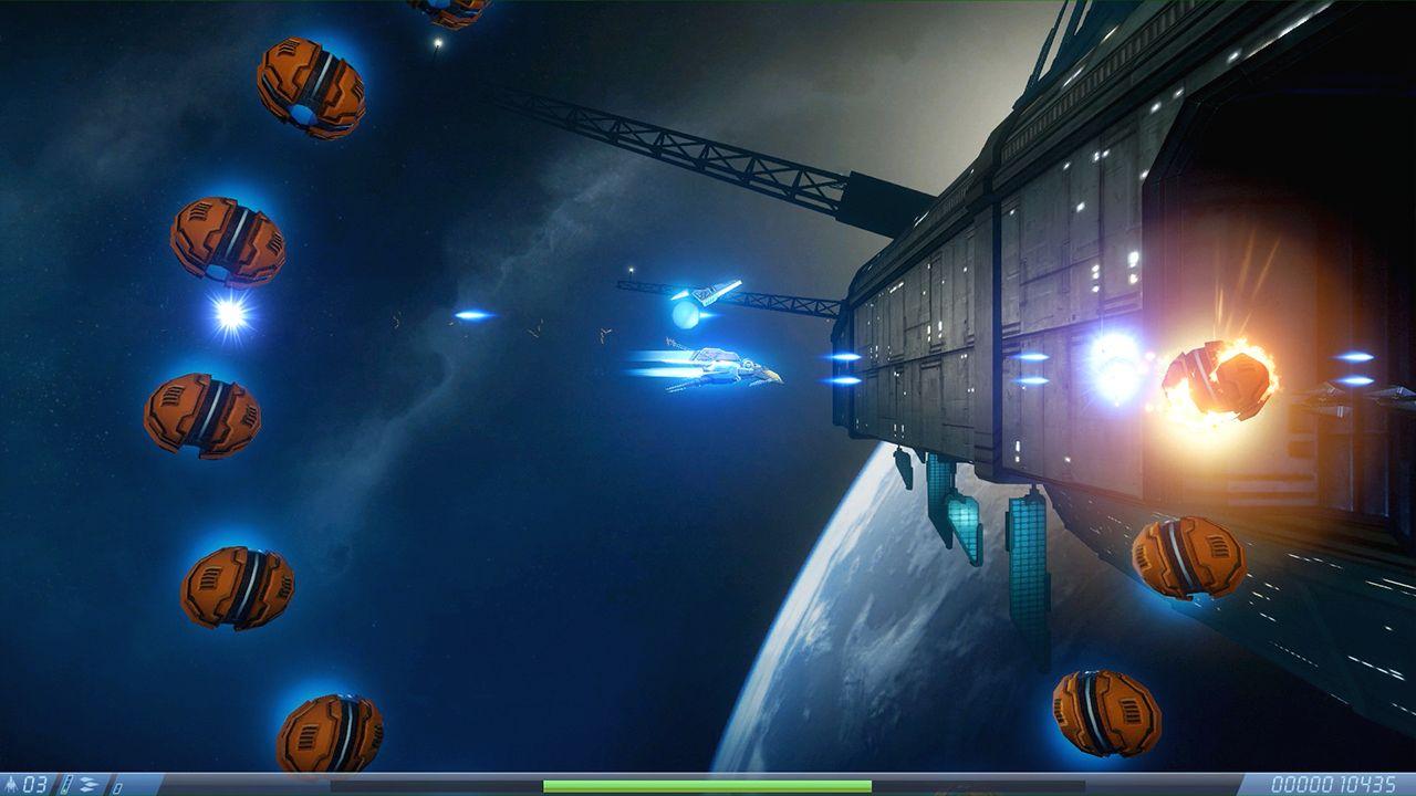 Screenshot from Rigid Force Alpha (7/7)