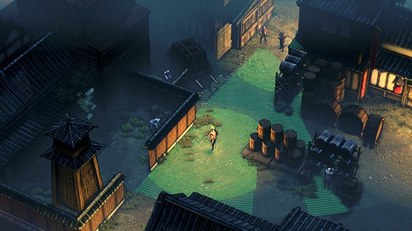 Screenshot from Shadow Tactics: Blades of the Shogun (7/7)