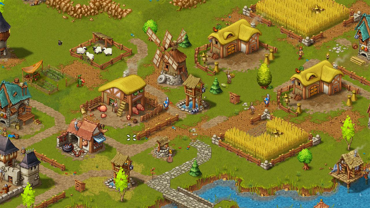 Screenshot from Townsmen - A Kingdom Rebuilt (2/5)
