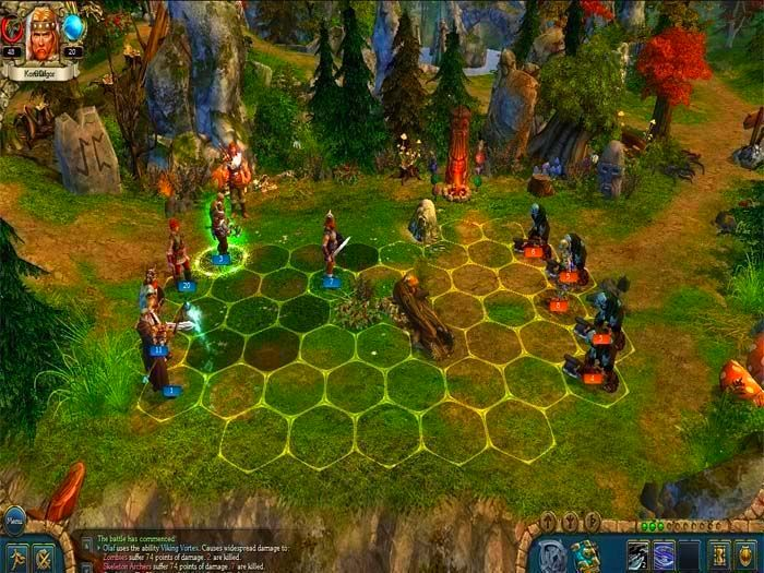Screenshot from King's Bounty: Warriors of the North (2/5)