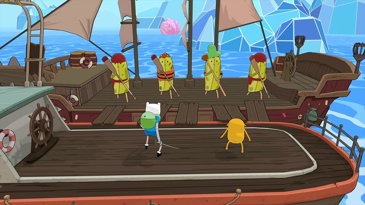 Screenshot from Adventure Time: Pirates of the Enchiridion (2/6)
