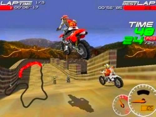 Screenshot from Moto Racer 2 (2/5)