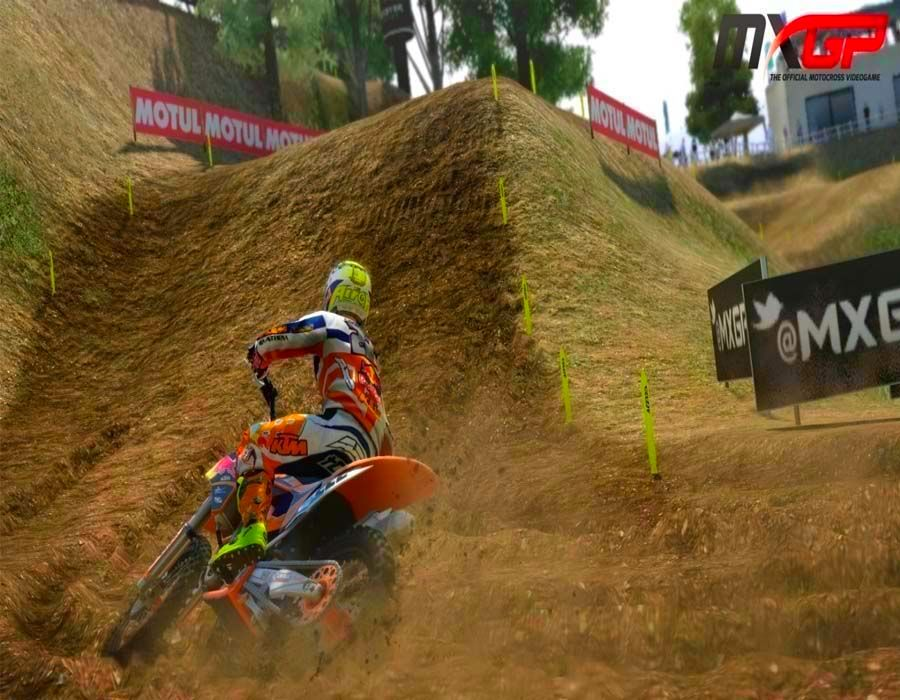 Screenshot from MXGP - The Official Motocross Videogame (3/5)