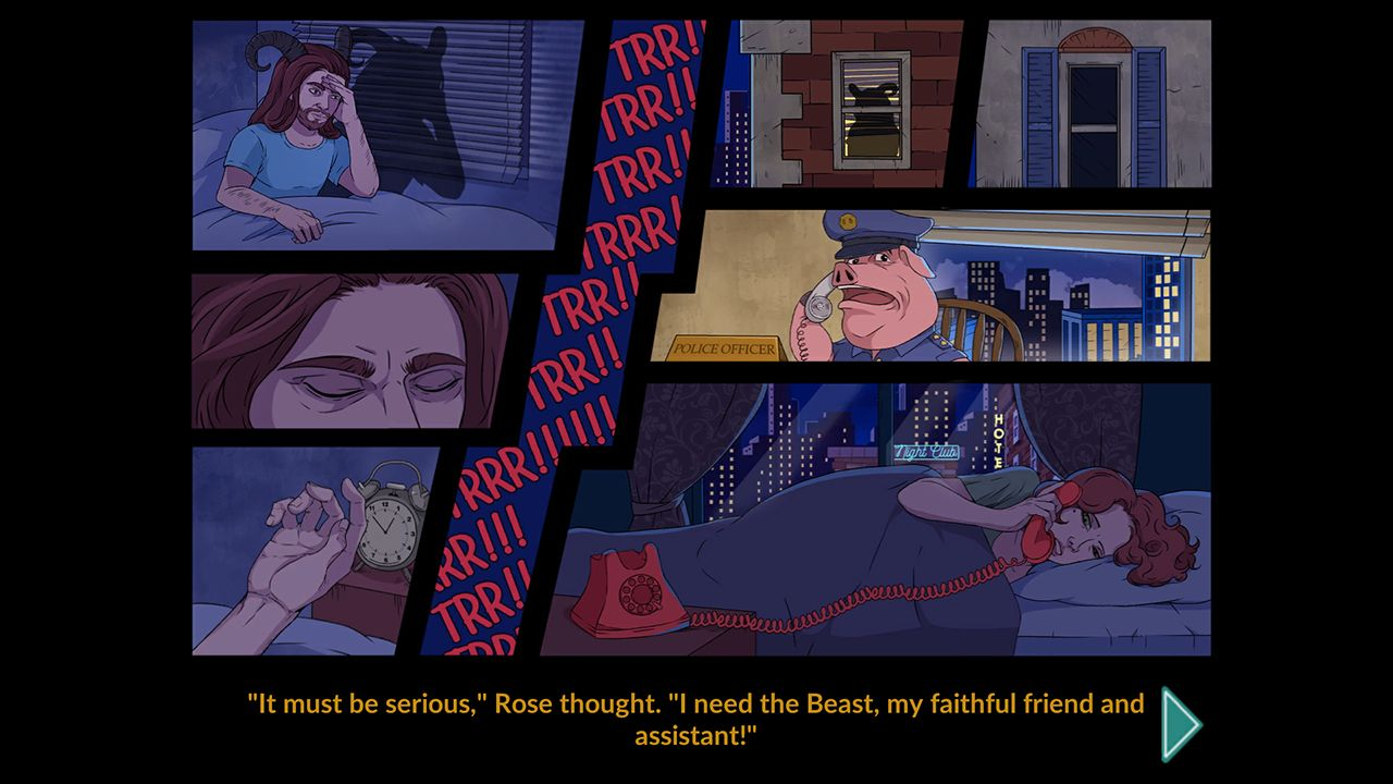 Screenshot from Rose Riddle 2: Werewolf Shadow (9/10)
