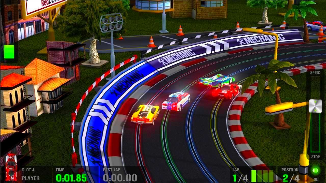 Screenshot from HTR+ Slot Car Simulation (5/5)