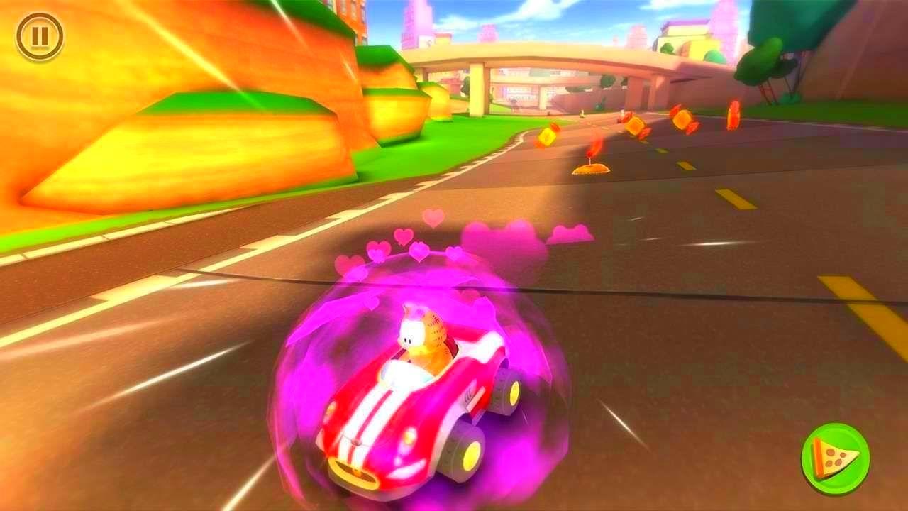Screenshot from Garfield Kart (7/10)
