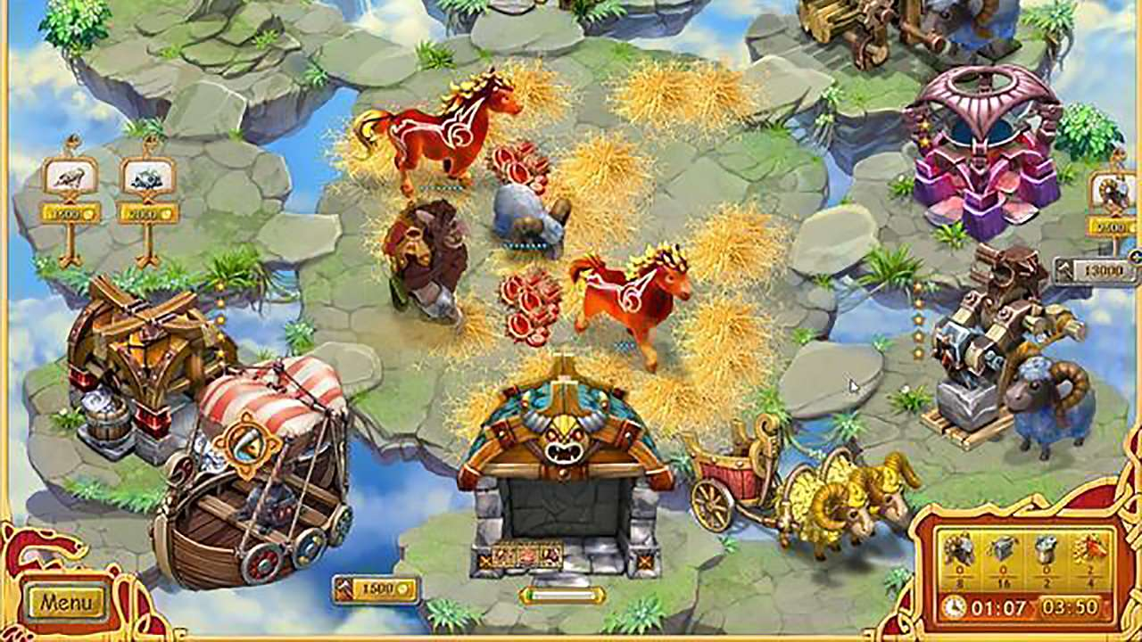Screenshot from Farm Frenzy: Viking Heroes (7/9)