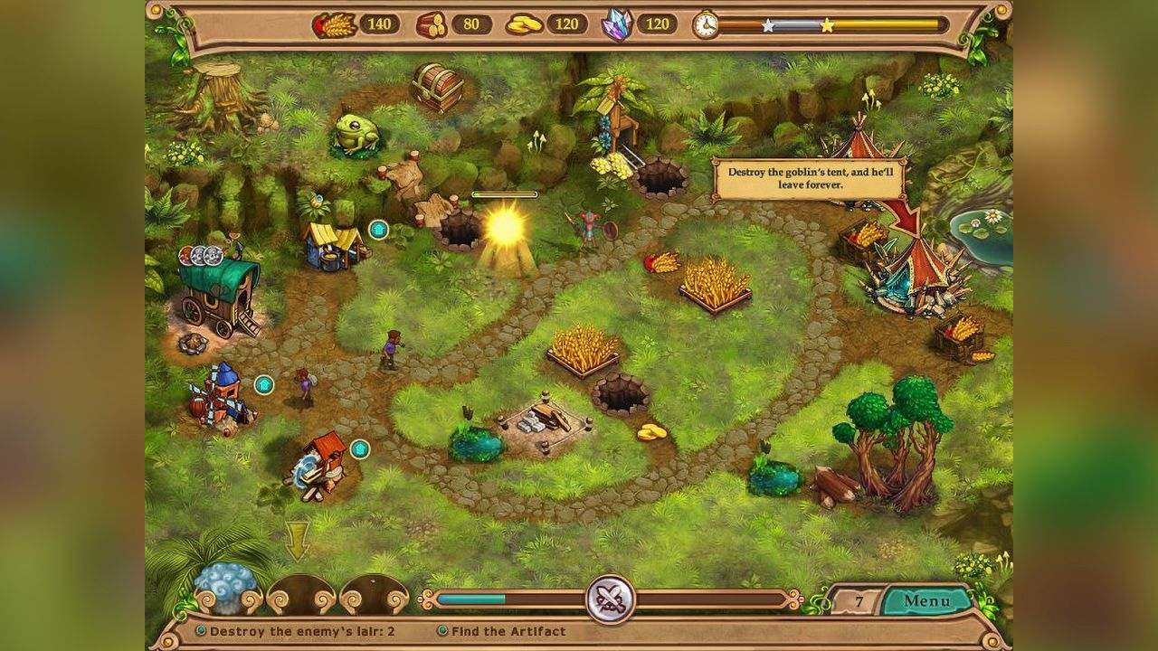 Screenshot from Weather Lord: Following the Princess Collector's Edition (1/8)