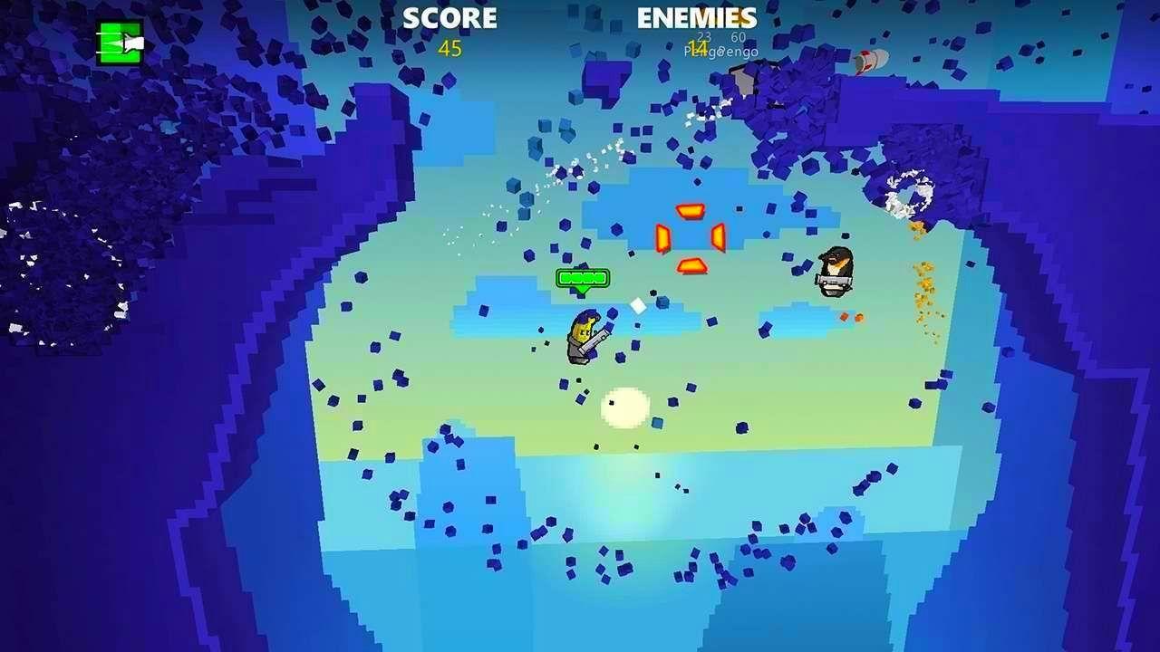 Screenshot from Rocket Riot (1/8)