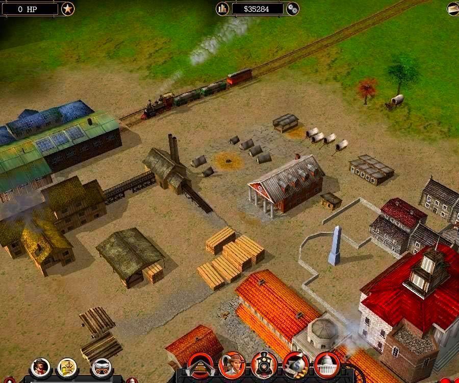 Screenshot from Railroad Pioneer (1/4)