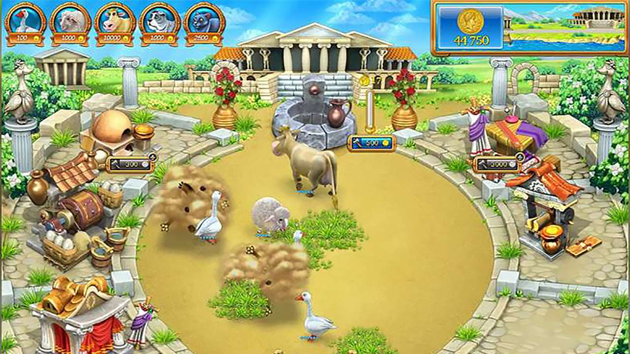 Screenshot from Farm Frenzy: Ancient Rome (3/7)