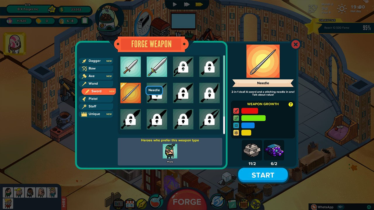 Screenshot from Holy Potatoes! A Weapon Shop?! (4/7)