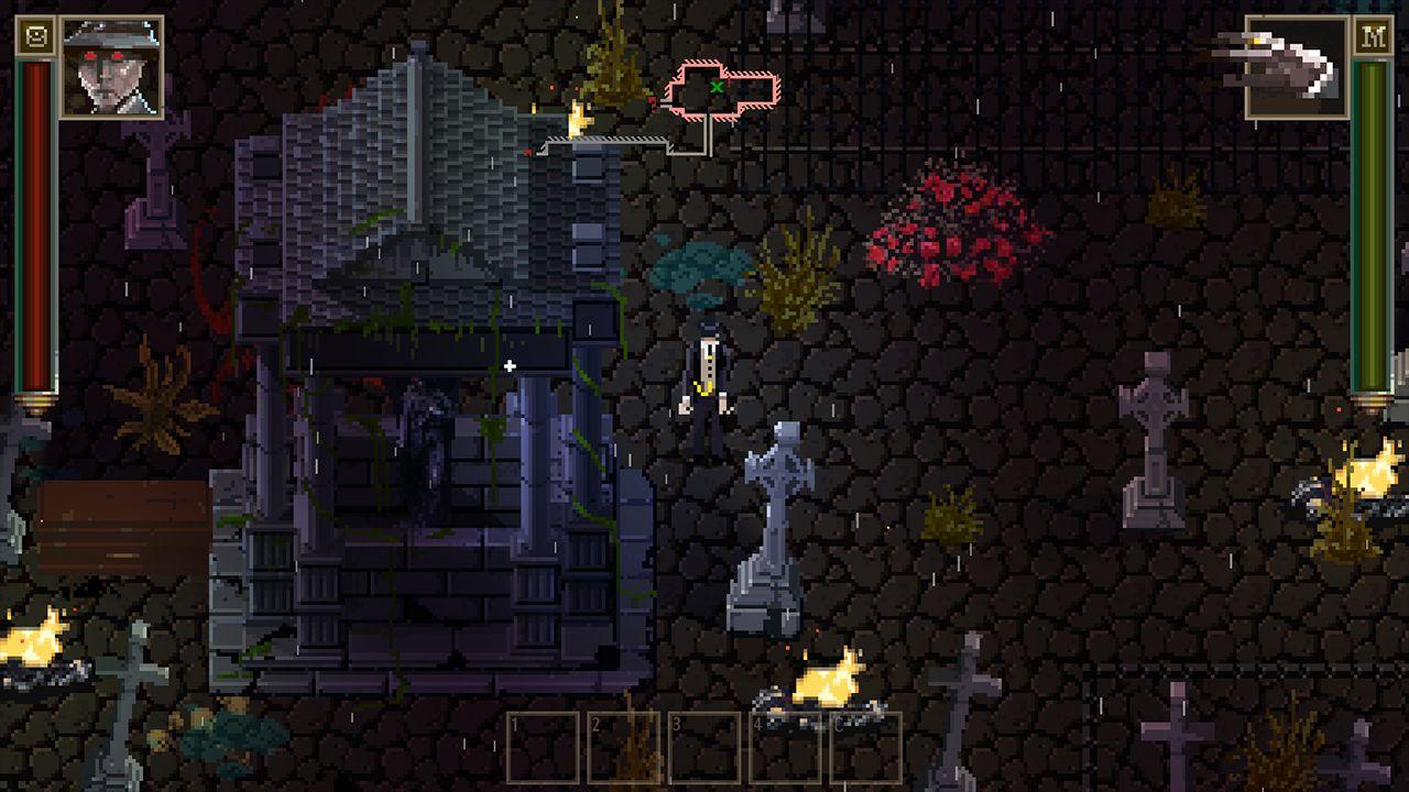 Screenshot from Lovecraft's Untold Stories (6/10)