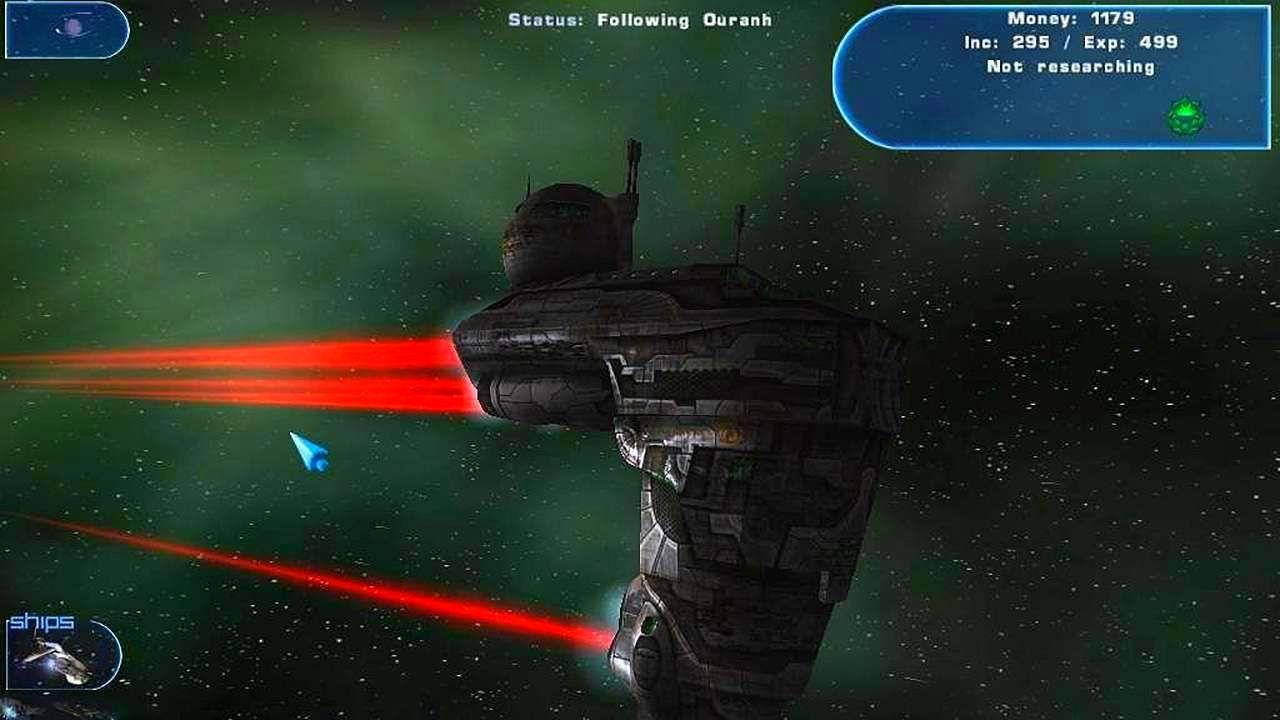 Screenshot from Haegemonia: The Solon Heritage (2/7)