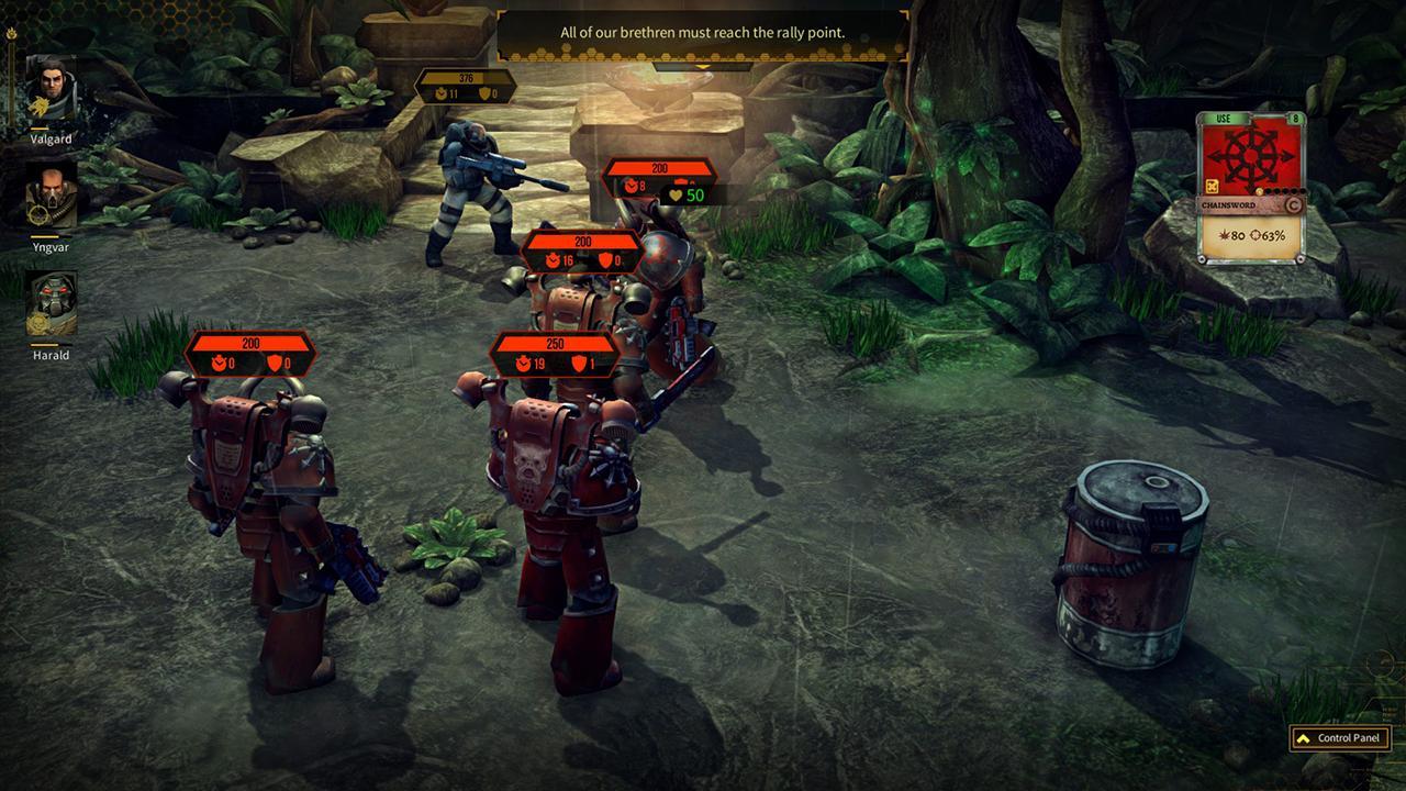 Screenshot from Warhammer 40,000: Space Wolf (2/5)