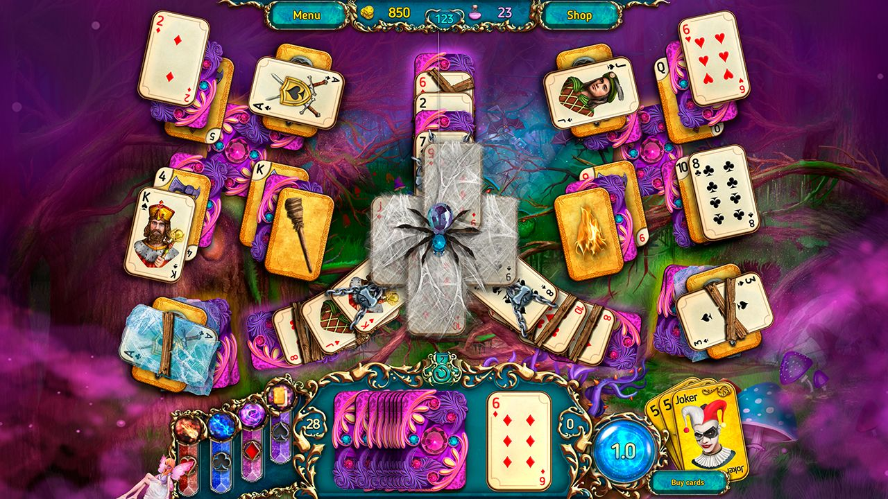 Screenshot from Dreamland Solitaire: Dark Prophecy Collector's Edition (4/8)