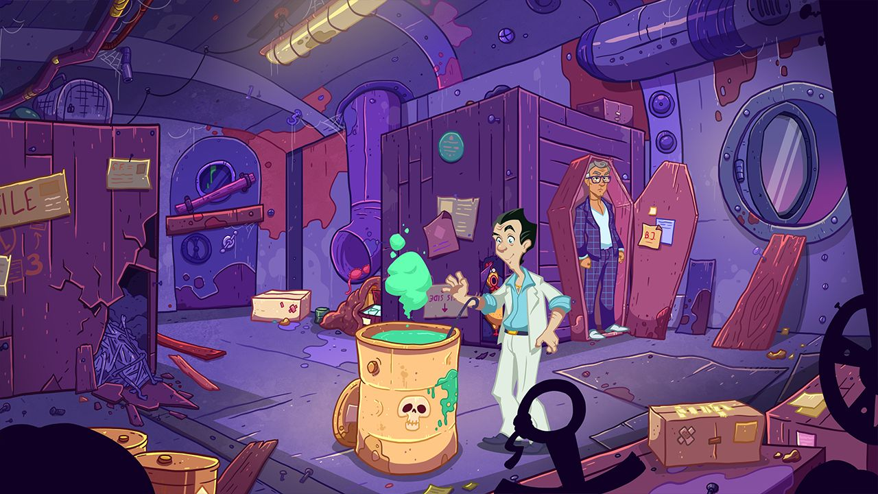 Screenshot from Leisure Suit Larry - Wet Dreams Don't Dry (5/10)