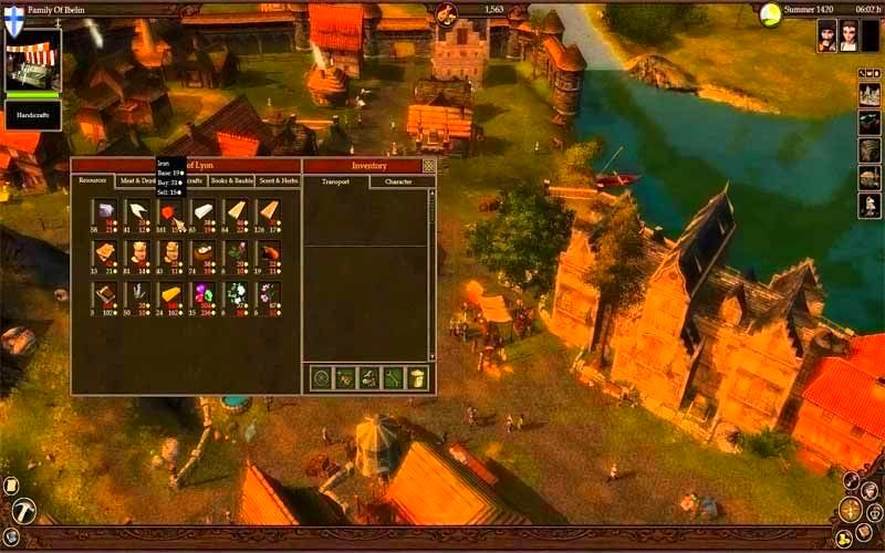 Screenshot from The Guild 2: Renaissance (5/5)