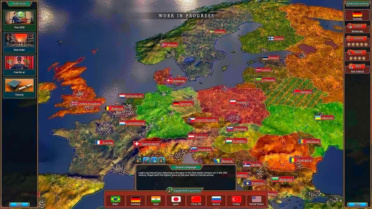 Screenshot from Realpolitiks (7/8)