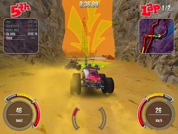 Screenshot from RC Cars (3/4)