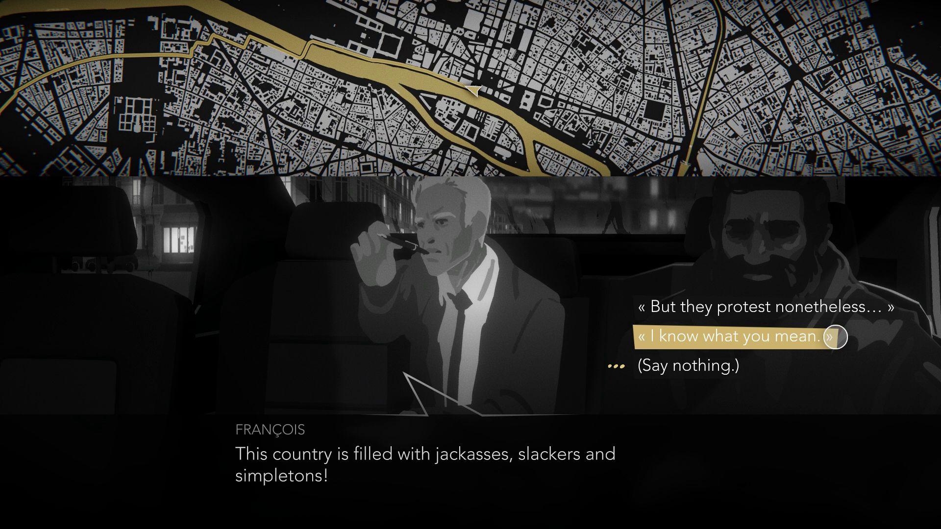Screenshot from Night Call (9/9)