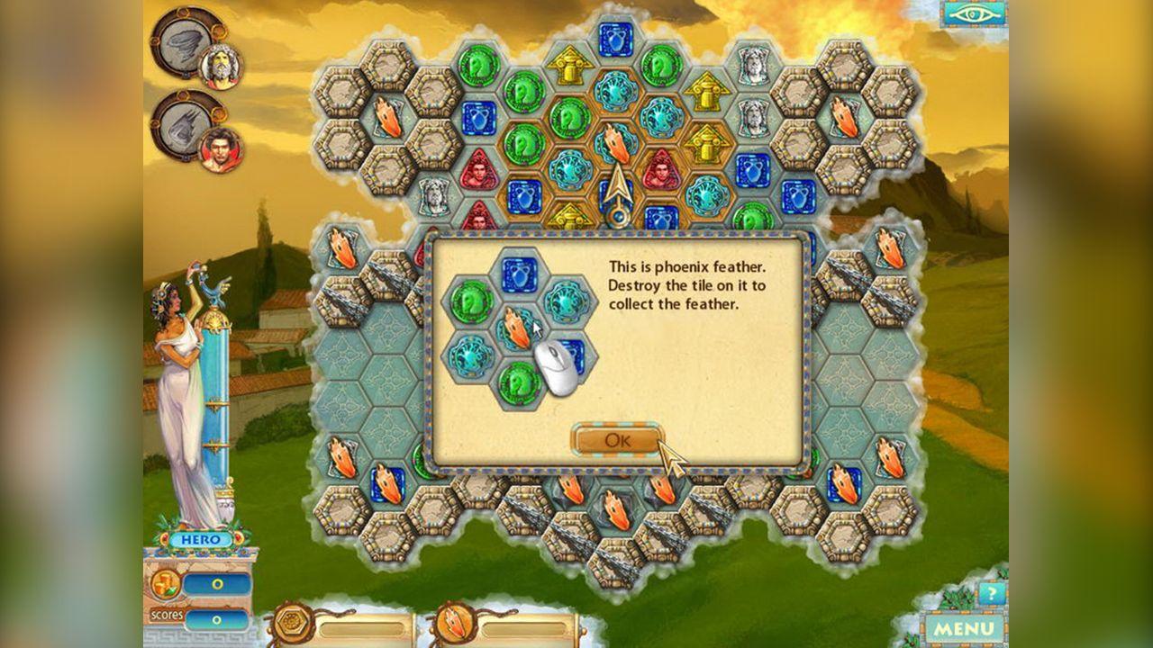 Screenshot from Heroes of Hellas 2: Olympia (8/8)
