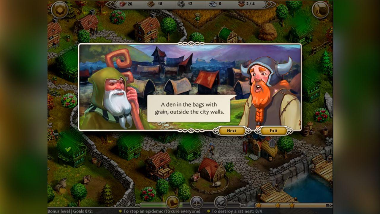 Screenshot from Viking Saga 2: New World (1/5)