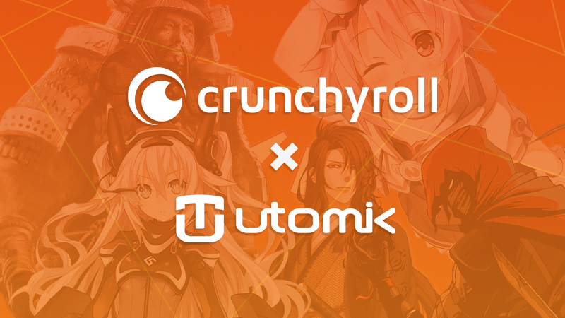 Utomik announces partnership with Crunchyroll!