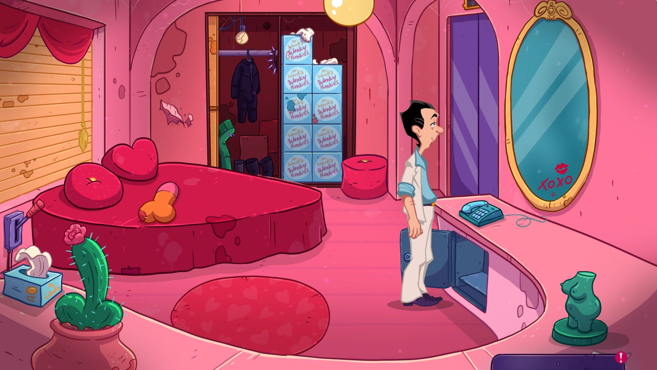 Screenshot from Leisure Suit Larry - Wet Dreams Dry Twice (1/8)