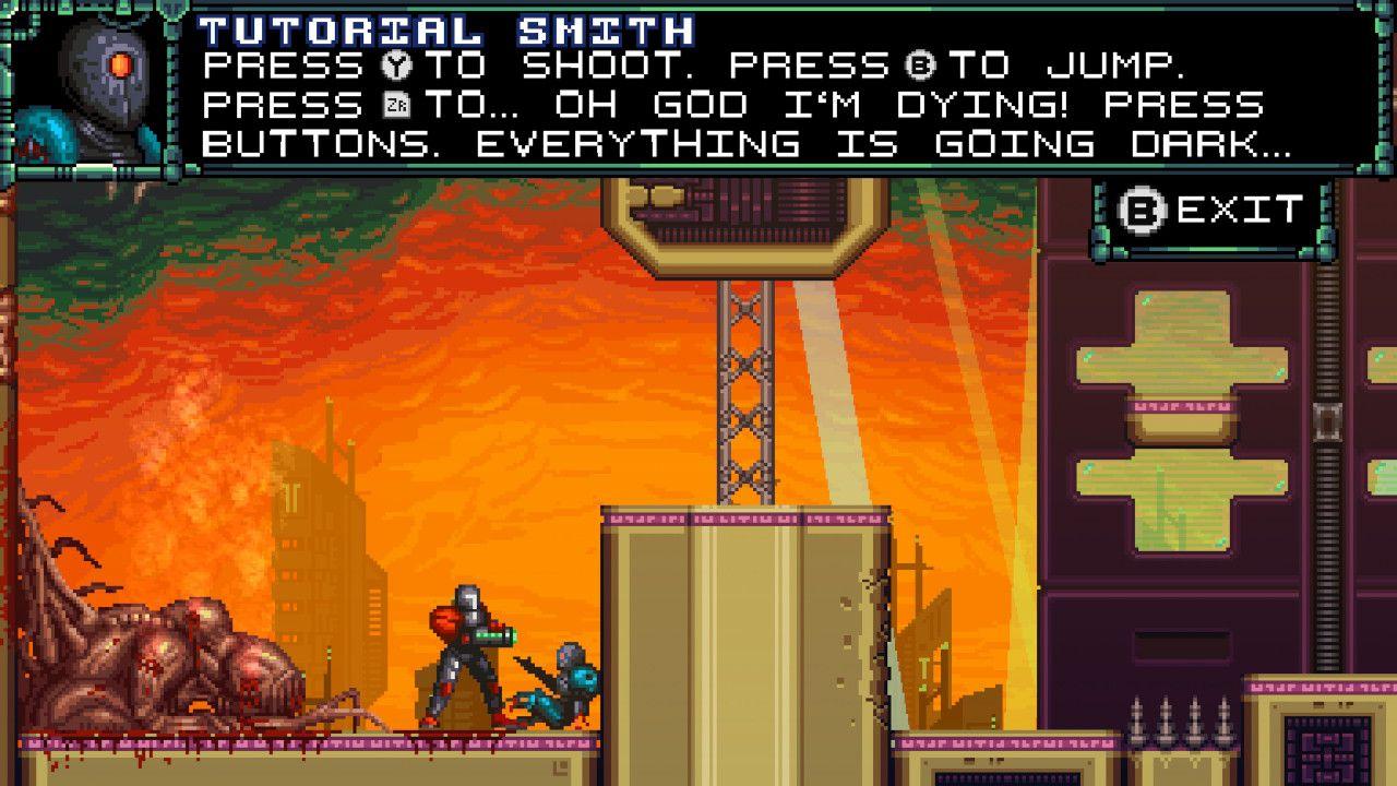 Screenshot from A Robot Named Fight! (9/10)