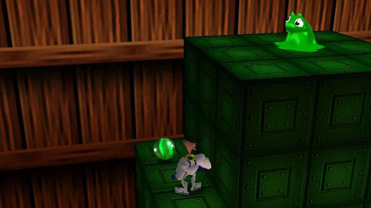 Screenshot from Earthworm Jim 3D (7/7)