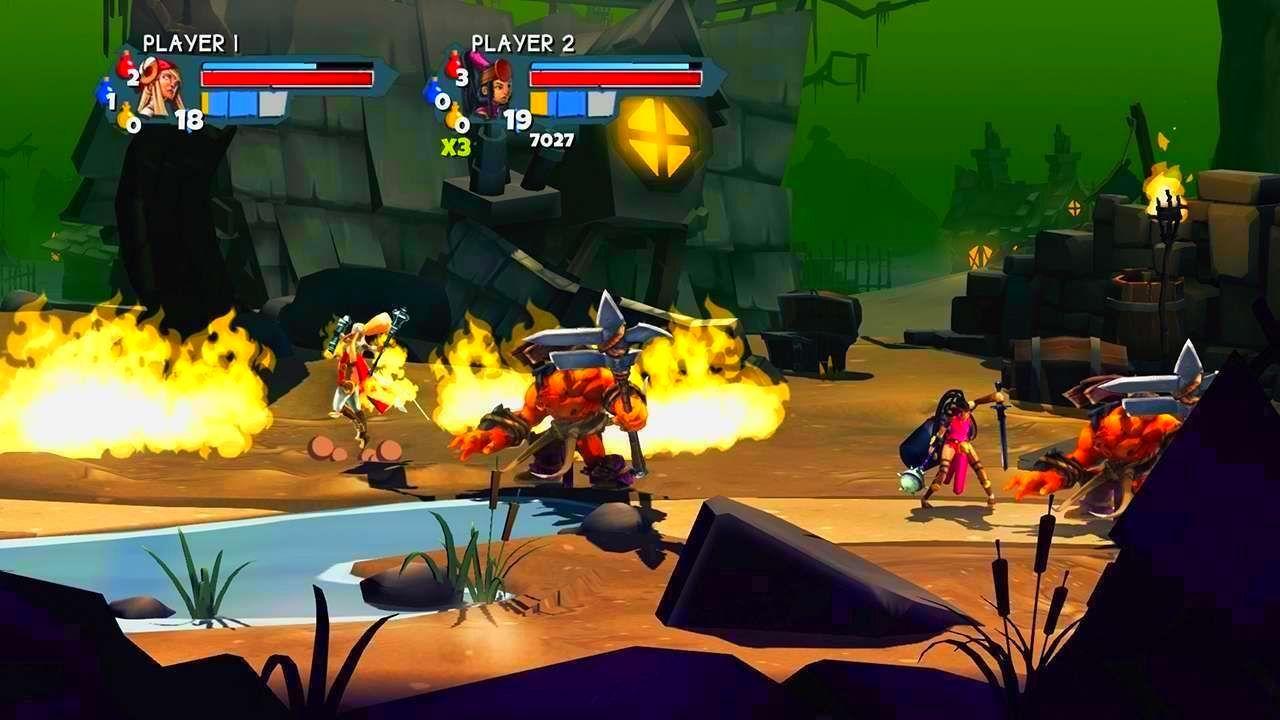 Screenshot from Sacred Citadel (7/9)
