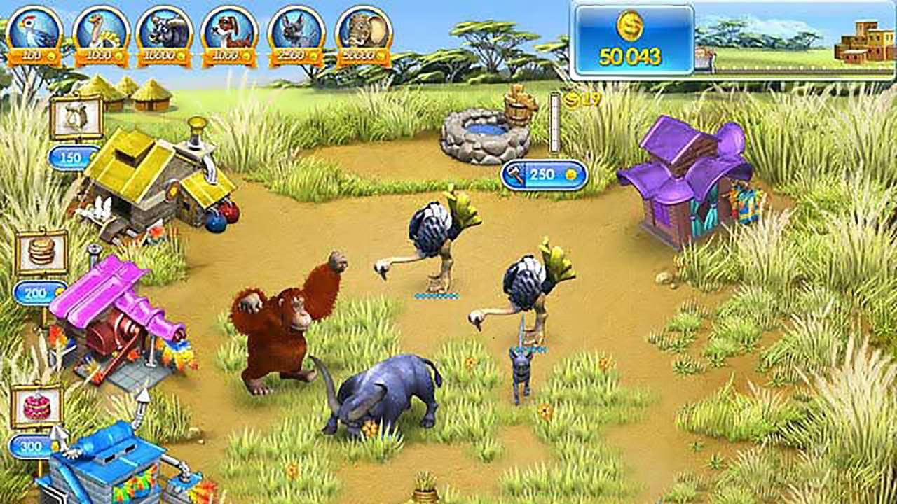 Screenshot from Farm Frenzy 3: Madagascar (2/6)