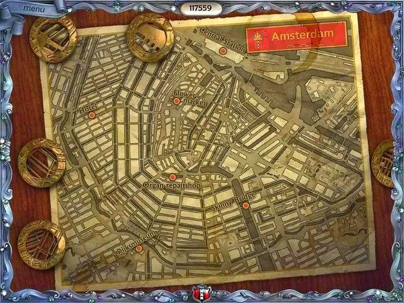 Screenshot from Youda Legend: The Curse of the Amsterdam Diamond (1/5)
