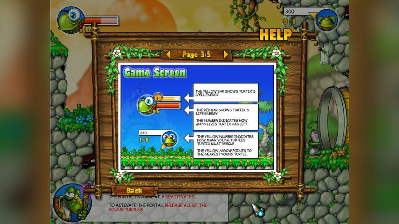 Screenshot from Turtix (1/4)
