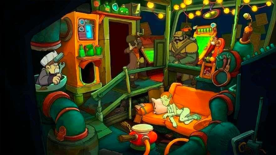 Screenshot from Deponia (5/5)