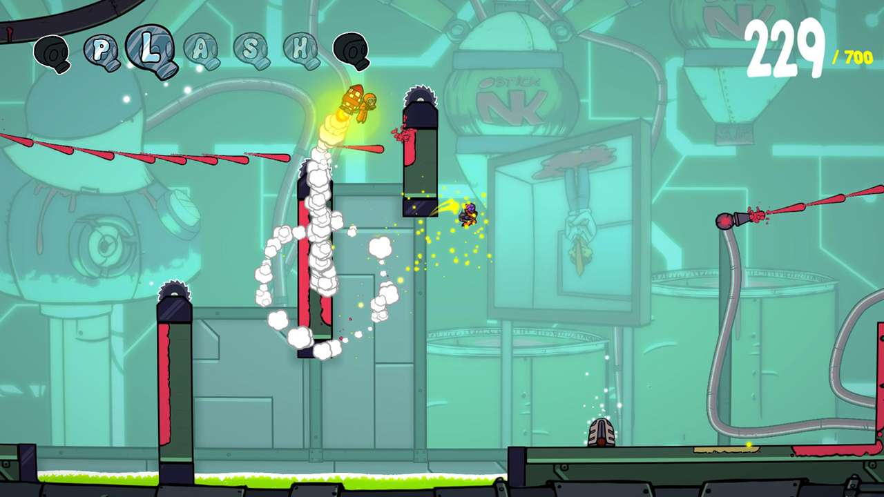 Screenshot from Splasher (6/6)