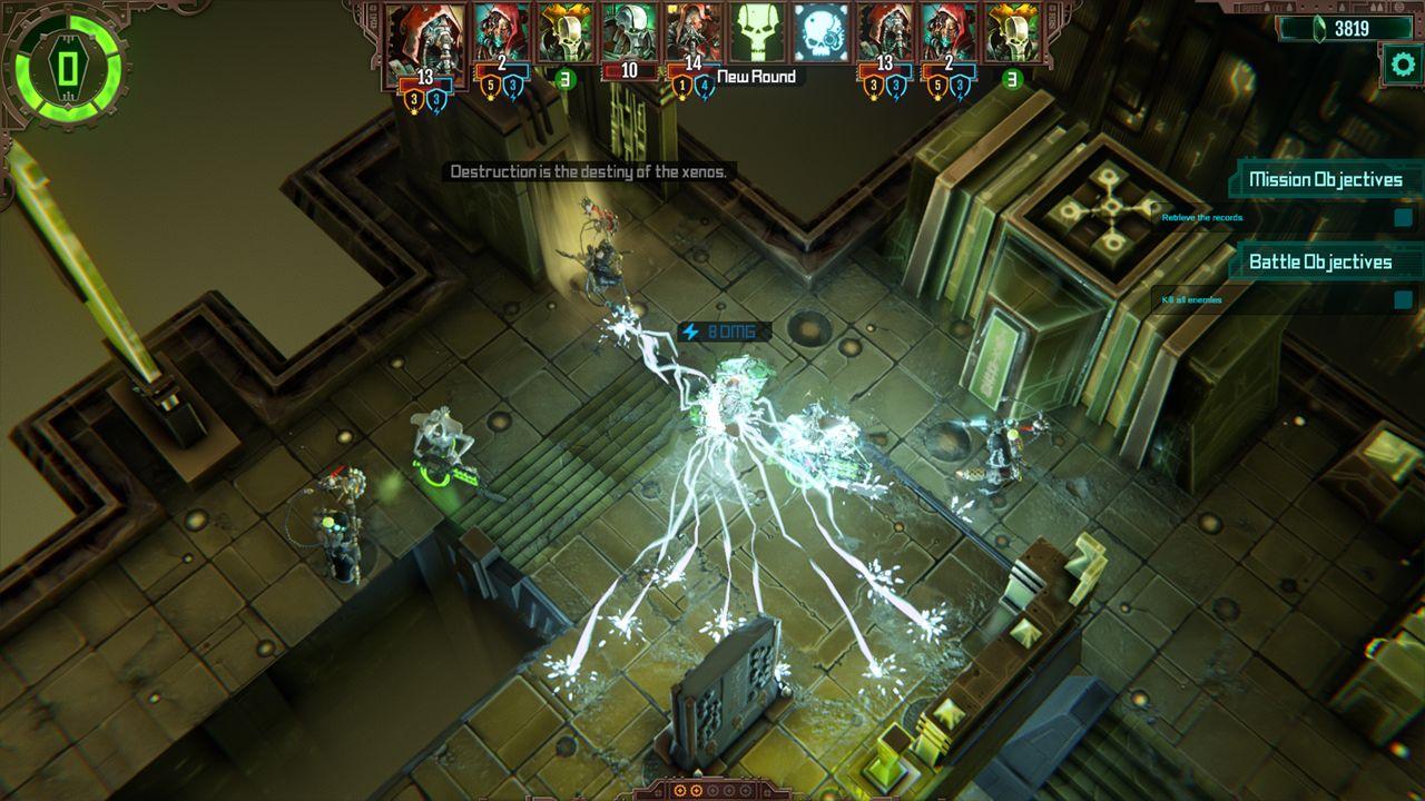Screenshot from Warhammer 40,000: Mechanicus (3/9)