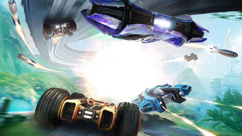 GRIP: Combat Racing updated with anti-gravity racing