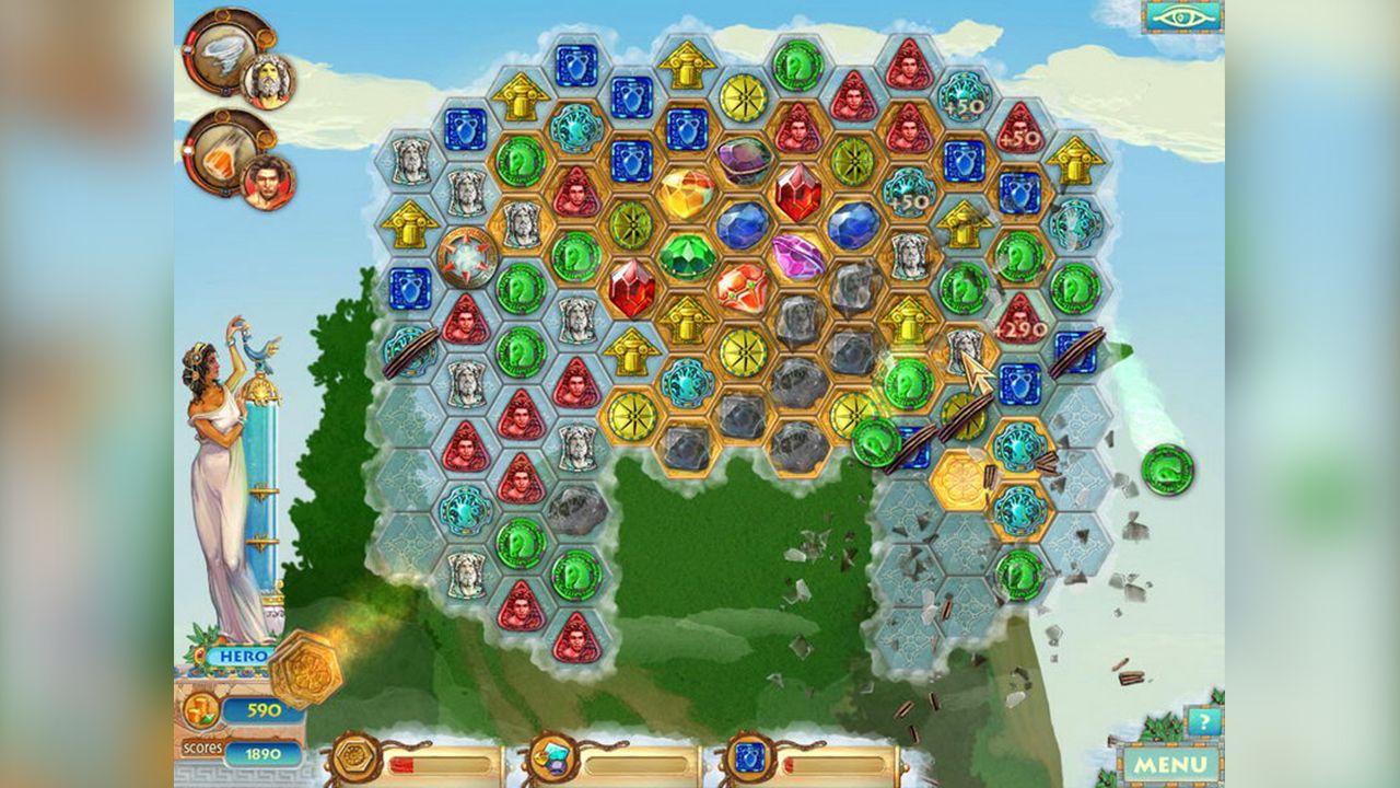 Screenshot from Heroes of Hellas 2: Olympia (7/8)