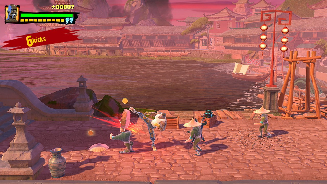 Screenshot from Shaq Fu: A Legend Reborn (2/7)