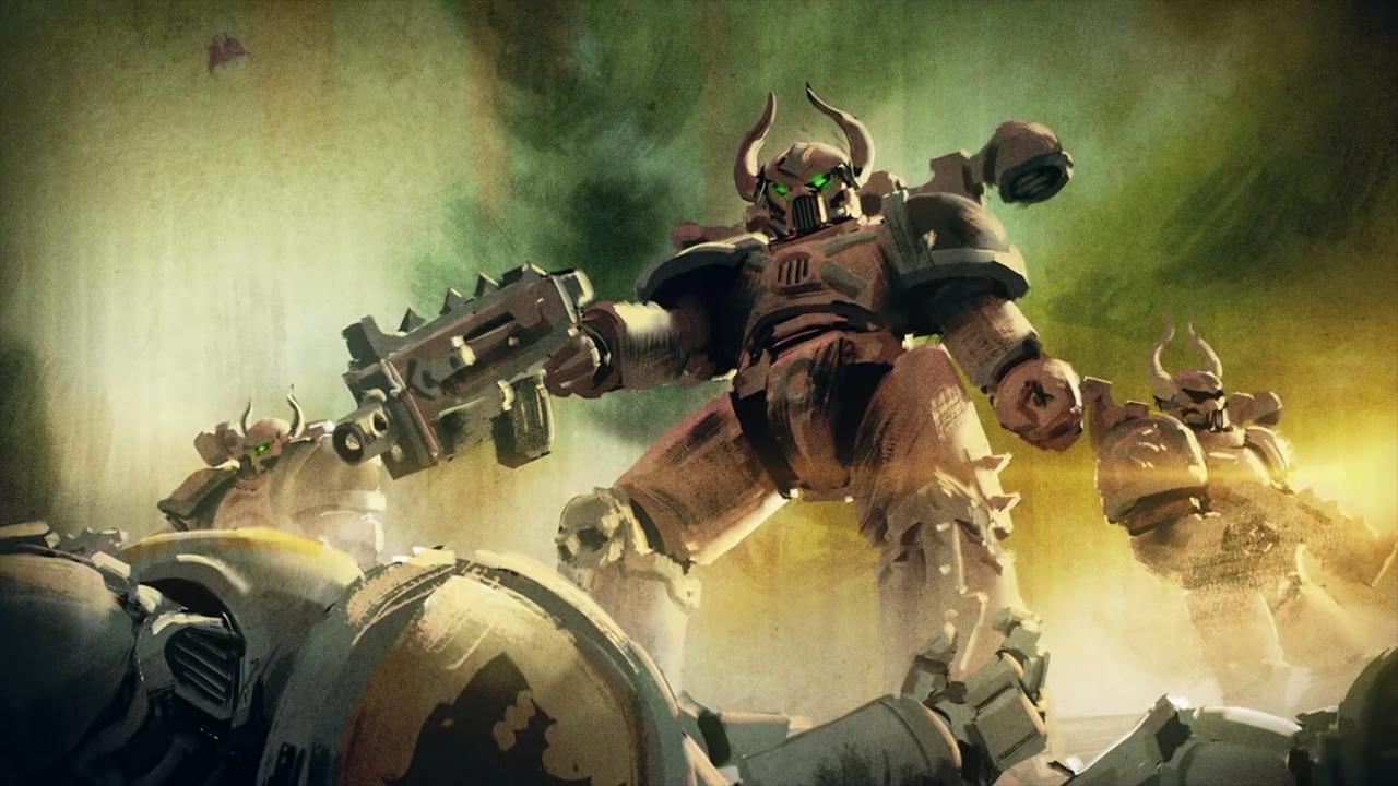 Screenshot from Warhammer 40,000: Space Wolf (4/5)