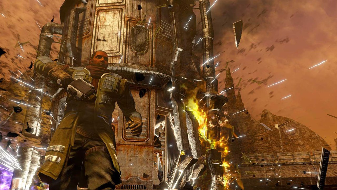 Screenshot from Red Faction Guerrilla Re-MARS-tered (5/6)