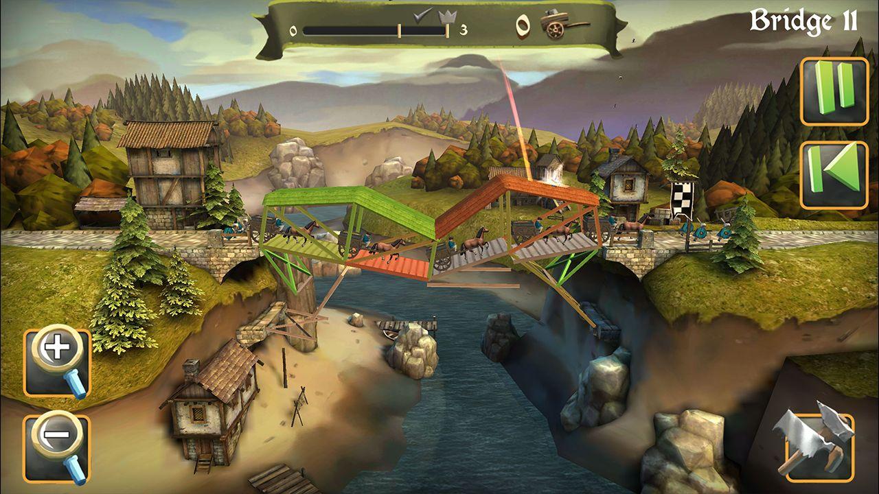 Screenshot from Bridge Constructor Medieval (5/5)